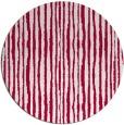 rug #891408 | round red stripes rug