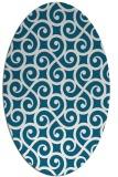rug #891462   oval traditional rug