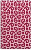 rug #891464 |  red traditional rug