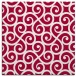 rug #891476 | square red traditional rug