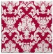 rug #891496 | square red traditional rug