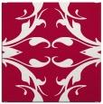 rug #891556 | square red damask rug