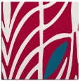 rug #891776 | square red abstract rug