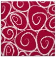 rug #891856 | square red circles rug