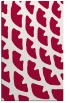 rug #891884 |  red abstract rug