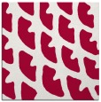 rug #891896 | square red abstract rug