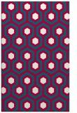 rug #892124 |  red retro rug