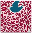 rug #892156 | square red graphic rug
