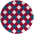 rug #892170 | round check rug