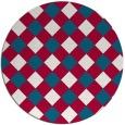 rug #892171 | round check rug