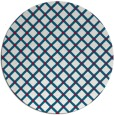 rug #892188 | round red check rug