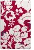 rug #892284 |  red damask rug