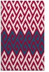 rug #892304 |  red abstract rug