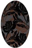 rug #89270 | oval natural rug
