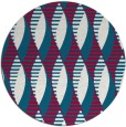 rug #892788 | round red rug