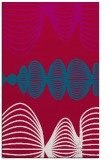 rug #892844 |  red abstract rug