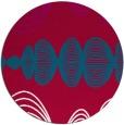rug #892848 | round red circles rug