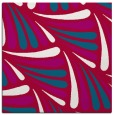 rug #892956 | square red retro rug
