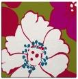 rug #893016 | square red natural rug