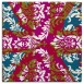 rug #893076 | square red abstract rug