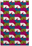 rug #893184 |  red circles rug