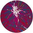 rug #893248 | round red popular rug
