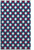 rug #893284 |  red check rug