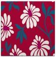rug #893316 | square red natural rug
