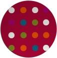 rug #893468 | round red circles rug