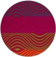 rug #893548 | round red popular rug