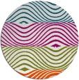 rug #893549 | round stripes rug