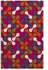 rug #893564 |  red circles rug