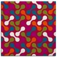 rug #893576 | square red retro rug