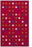 rug #893704    red circles rug