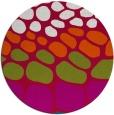 rug #893768 | round red circles rug