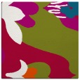 rug #893816 | square red graphic rug