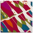 rug #893896 | square red abstract rug