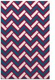 rug #894044 |  red retro rug