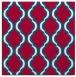 rug #894236 | square red popular rug