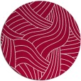 rug #894328 | round red rug