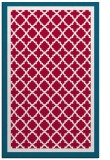 rug #894504 |  red traditional rug