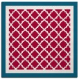 rug #894516 | square red traditional rug