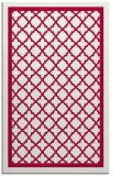 rug #894524 |  red borders rug