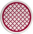 rug #894528 | round red borders rug