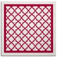 rug #894536 | square red traditional rug
