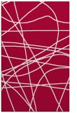 rug #894684 |  red abstract rug