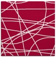 rug #894696   square red abstract rug