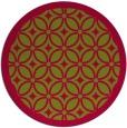 rug #894870 | round borders rug