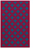 rug #895104 |  blue-green traditional rug