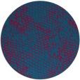 rug #895728   round blue-green natural rug